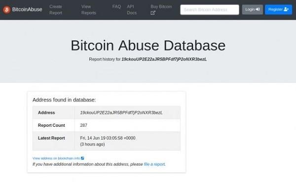 controlla la validità dellindirizzo bitcoin)